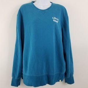 Life is Good Sweatshirt Medium